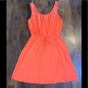 A New Day Coral Tank Dress sz S~excellent